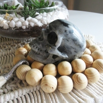 This large labradorite skull is definitely one of my favorites.